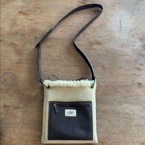 UGG pocket messenger crossbody purse